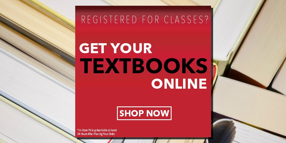 Signing up for Spring Classes?  Get your Textbooks online here!
