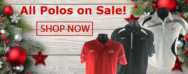 Sale on all polo shirts!