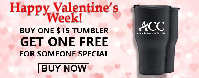 Valentines Day Tumbler Sale
