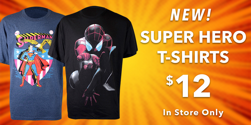 Buy Super Hero Themed Shirts In Store