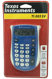 Texas Instruments TI-503 SV Basis Calculator