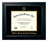 Graduation Frame Satin Black