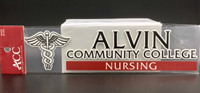 Alvin Community College Nursing Decal