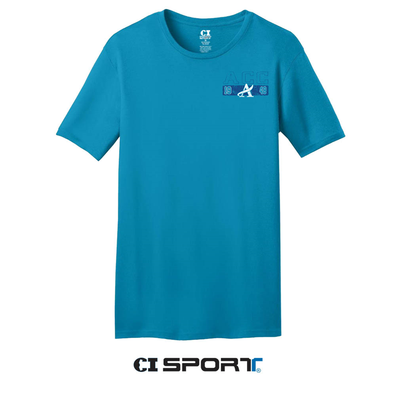 Ci Sport Acc Dolphins Graphic Turquoise T-Shirt (SKU 103357411055)