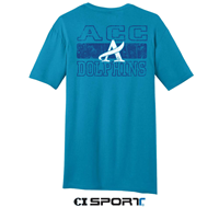 CI Sport ACC Dolphins Graphic Turquoise T-Shirt