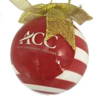 ACC Ceramic 3D Christmas Bulb Ornament