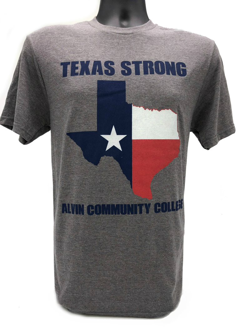 "Ci Sport Grey Frost ""Texas Strong"" Acc T-Shirt"