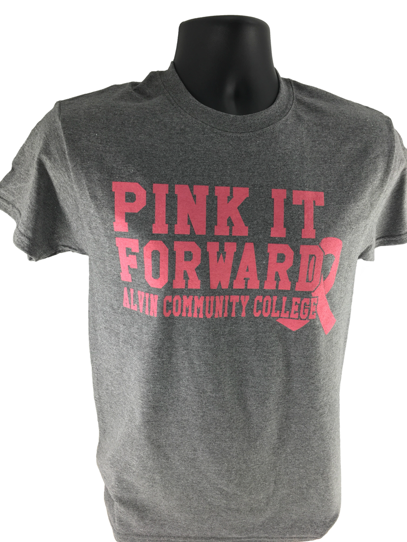 Pink It Forward Dolphins Heather T-Shirt (SKU 103356971069)