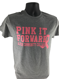 Pink It Forward Dolphins Heather T-Shirt