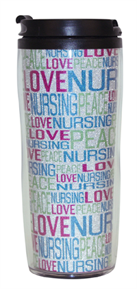 Mug Travel Peace Love Nursing