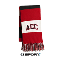 Scarf Sport Spectator Red/White