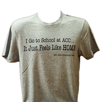 Tshirt I Go To School At Acc...