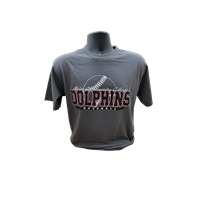 ACC Dolphin Baseball Graphic Tee