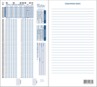 Apperson Education 6 Pack Of 100 Q Datalink 1200 Test & Answer Sheets (SKU 103063901063)