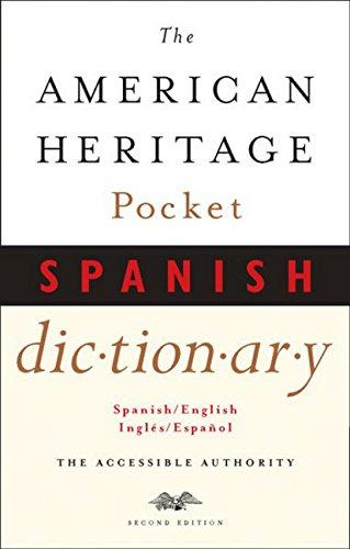 American Heritage Pocket Spanish Dictionary (SKU 100755241058)