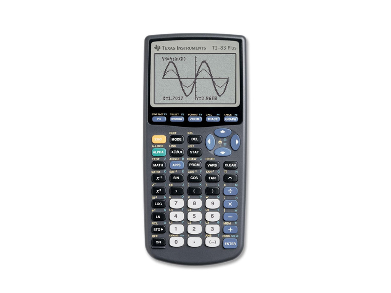 Ti 83 Graphing Calculator